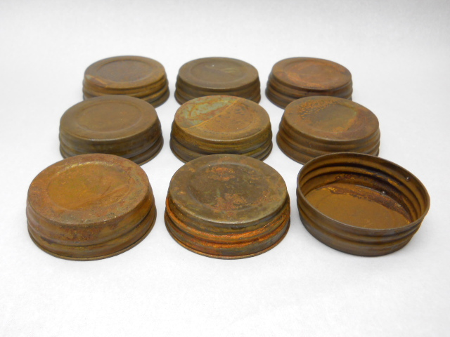wide mouth decorative primitive rustic mason jar lids